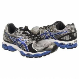 Asics Mens Gel Nimbus 14 Lightning Royal Black Running Shoes