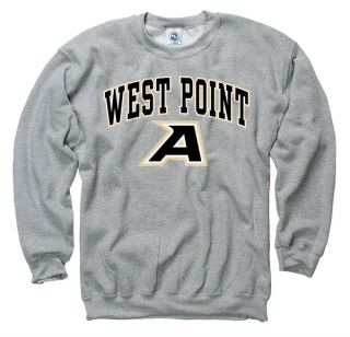 Army Black Knights West Point Sport Grey Perennial II Crewneck