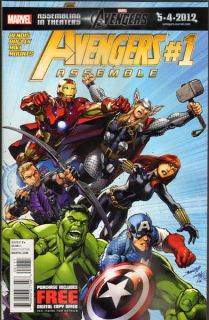 avengers assemble 1 first print nm or better condition individually