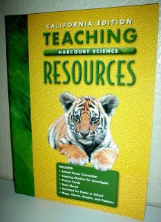 HARCOURT 2ND Grade 2 CALIFORNIA SCIENCE TEACHING RESOURCES HOMESCHOOL