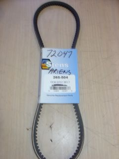Ariens Snowblower Snow Blower Thrower Drive Belt 72047