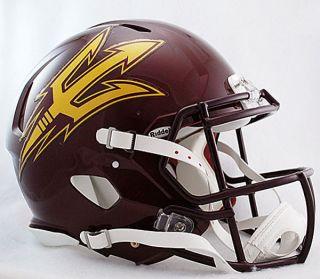 Arizona State Sun Devils Riddell Revolution Speed Football Helmet