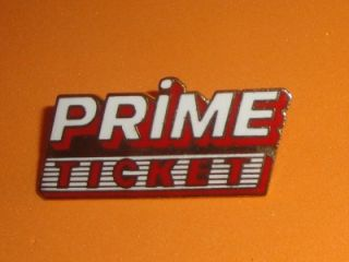 Prime Ticket Sports Network Vtg Press Enamel Hat Pin Badge Pay per