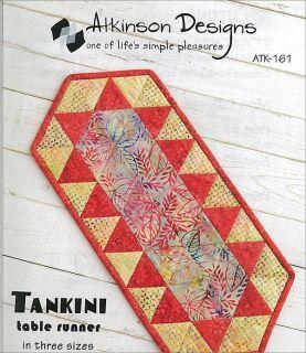 Atkinson Designs Tankini table runner pattern