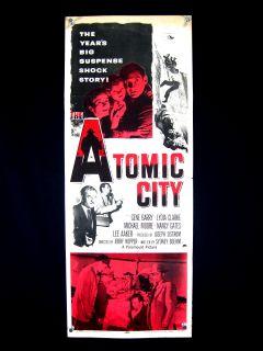 Atomic City Wild Thriller 1952 George Barry Insert VG