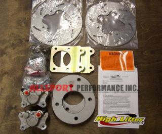 Honda ATV 450 FOREMAN 1998 2004 High Lifter Front Disc Brake