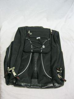Athalon Everything Boot Bag Black Ski Equipment Backpack