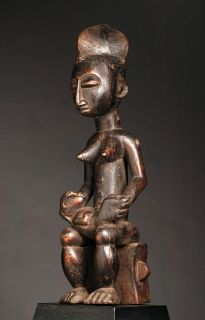 Attie Akye Maternity Figure Artenegro Gallery with African Tribal Arts