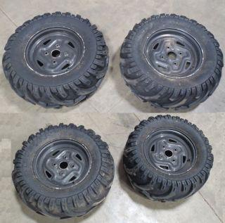 Kawasaki Brute Force 750 650 ATV Wheels Tires Grizzly Rancher Vinson
