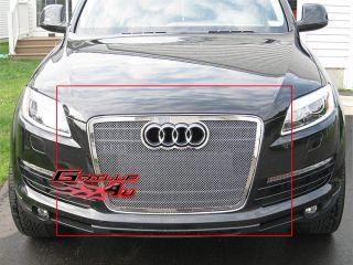 07 11 2011 Audi Q7 Stainless Steel Mesh Grille Insert