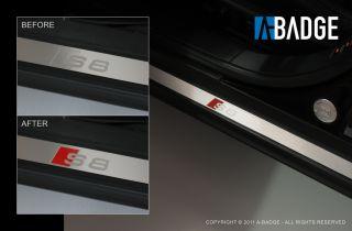 Audi S8 Sticker Aufkleber Decal Set 6 Door Step
