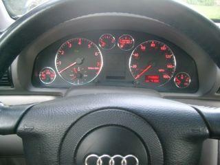 Audi B5 C5 4B A3 A4 A6 Gauge Dash Dashboard Chrome Dial Rings Set