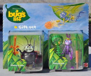 Bugs Life Princess Atta and Francis Slim Action Figure Gift Set