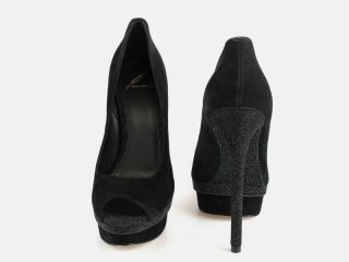 11 1327 Brian Atwood at Socialite Auctions Sz 10 Black Florencia