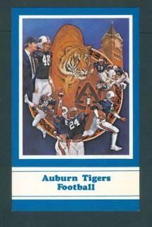 Alabama Auburn University Tiger Football 1982