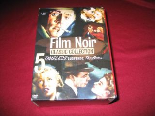 Film Noir Classic Collection Vol 1 5 DVD Set Warner Bros