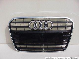 Audi A6 S6 4G Kühlergrill Grill 4G0853653 4G0853651