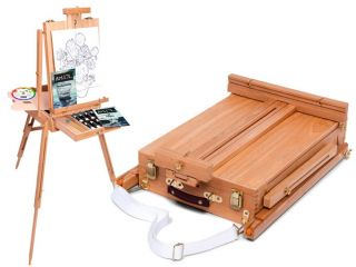 New Art 101 Portable Art Easel with Paints More