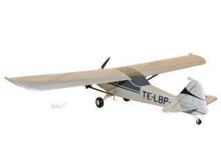 Auster Mark 5 TE LBP Wood Desktop Airplane Model