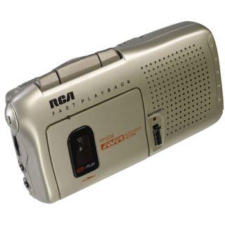 RCA RP3538R Micro Cassette Recorder Voice Recorder