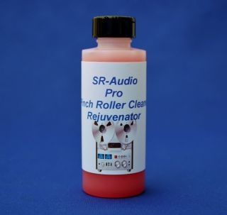 SR Audio Reel to Reel Pinch Roller Cleaner+Cleans & Rejuvenates Rubber