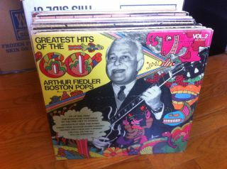Arthur Fiedler Boston Pops Greatest Hits of The 60s Vol 2 Vinyl LP