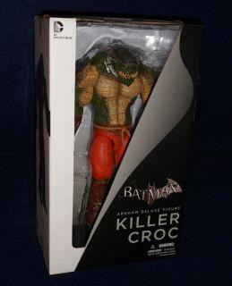 Batman Arkham City KILLER CROC Deluxe Figure Asylum DC Collectibles