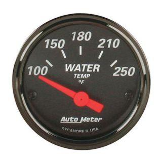 New Auto Meter Designer Black Electric Water Temperature Temp Gauge w