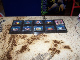 10 Atari 5200 Games Joust Pac Man Missile Command More