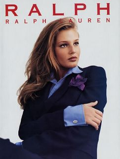 1996 Ralph Lauren Bridget Hall Magazine Ad
