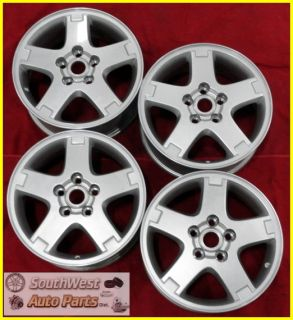 06 07 08 09 Torrent XL 7 16 Silver Take Off Wheels Factory Rims Set