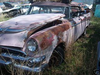 1956 56 Dodge Coronet 4DRHT Parts Car