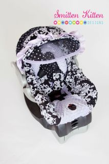 Boutique Infant Car Seat Carseat Replacement Cover Luci