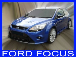 Ford Focus MK2 MK II 3 Door 2001 2011 Team Heko Wind Deflectors Tinted