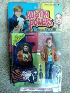 Austin Powers Scott Evil in Kurt Cobain Shirt Variant
