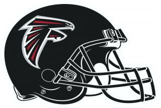 Atlanta Falcons Auto Car Decal Sticker Vinyl 6 5x9 5