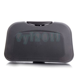 New Grey Car Auto Tray Food table Desk Stand drink Cup Holder