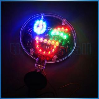 Automotive Car Interior Colorful Flash LED Light Lamp