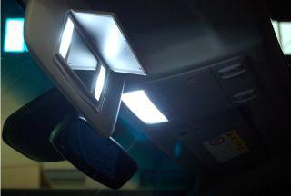 Chevy Cruze LED Interior Map Light & Sunvisor Vanity Mirror Light Set