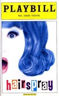 Playbill Hairspray Ashley Parker Angel Jerry Mathers Paul C Vogt