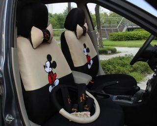 2012 New Cute Mickey Mouse Seat Covers Car Seat Covers
