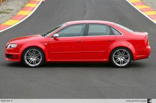 18 RS4 Wheels Rims Silver Fit Audi A4 B5 B6 B7 B8