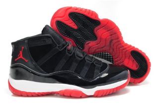 Nike Air Jordan Retro 11 Bred Black True Red White Confirmed Release