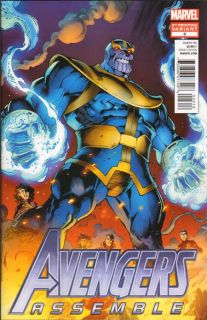 Avengers Assemble 3 Second 2nd Printing Thanos Variant