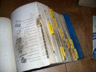 52nd Auto Truck Hollander Interchange Manual Covers Cars & Trucks 1975