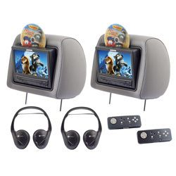 Audiovox 2008 Dodge Jeep DVD Headrest Monitor System