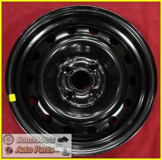 HONDA CIVIC CPE SDN 15 4 LUG BLACK STEEL WHEEL OEM NEW TAKE OFF 63867