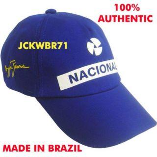 AYRTON SENNA OFFICIAL HAT CAP NACIONAL FORMULA 1 F1 NEW GORRA