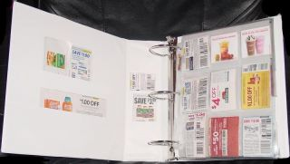 EXTREME COUPON BINDER AND ORGANIZER *TAKE A L@@K*