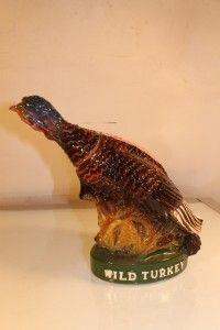 VTG AUSTIN NICHOLS WILD TURKEY BIRD DECANTER No. 7 IN BOX W TAG EXC